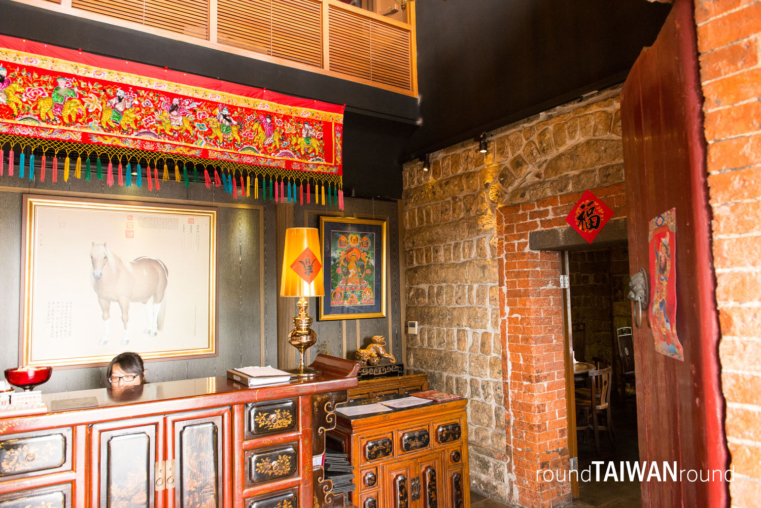 tamsui red castle | rich history | round taiwan round