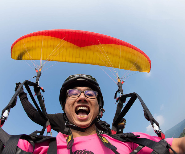 Sun Moon Lake - Adrenaline-Fuelled Paragliding